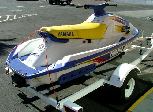 1995 Yamaha Waveraider manual